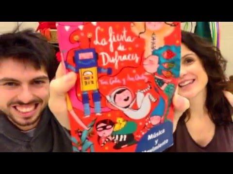 La fiesta de disfraces - libro + CD de música y Movimiento