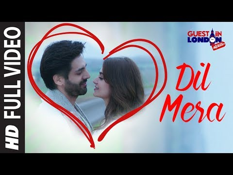 Dil Mera Song (Full Video Song)  | Guest iin London | Kartik Aaryan, Kriti Kharbanda | Raghav Sachar