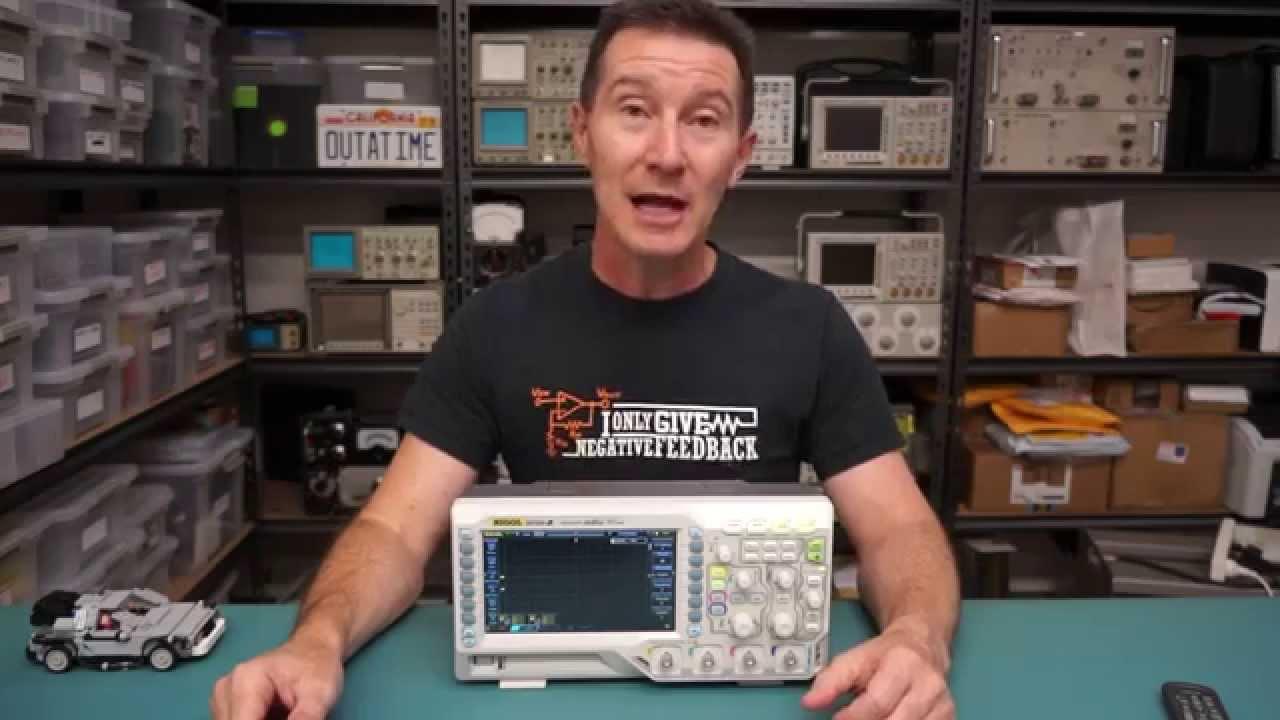 Rigol DS1054Z 50MHz 1GSa/s 4-Channel Digital Oscilloscope