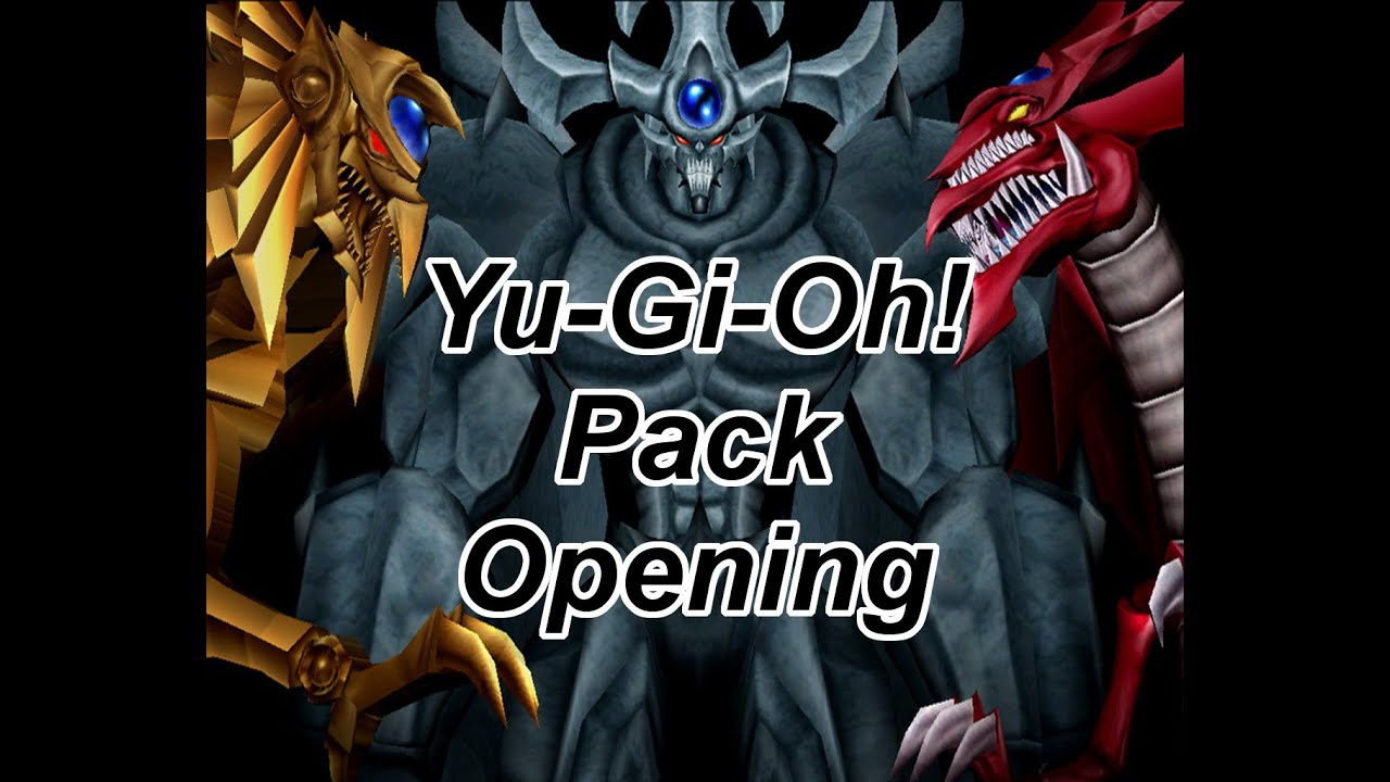 Yu Gi Oh Pack Opening Back Into It Youtube