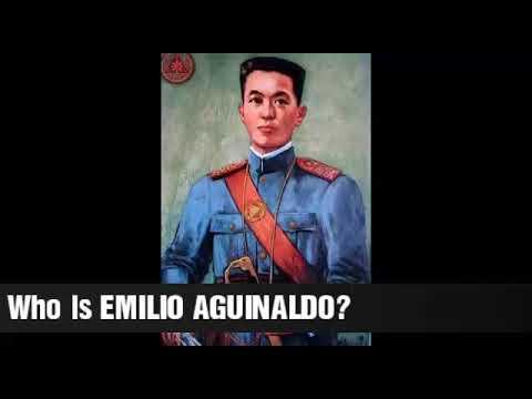 President Emilio Aguinaldo Story