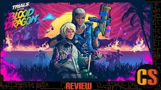 TRIALS OF THE BLOOD DRAGON - PS4 REVIEW