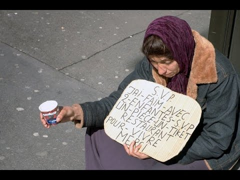 Why so many beggars in Paris?