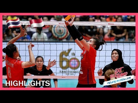 Thailand Vs Indonesia | Highlights | Day 3 | ASEAN Grand Prix 2019