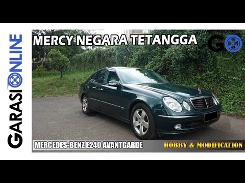 MERCEDES-BENZ E 240 AVANTGARDE W211 #4 | HOBBY & MODIFICATION