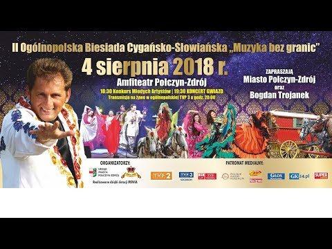 II Ogolnopolska Biesiada Cygansko Słowiańska - Połczyn Zdrój 04.08.2018 Live