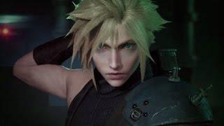 Live Reaction - Final Fantasy VII: Remake (Gameplay Trailer) [PSX 2015]