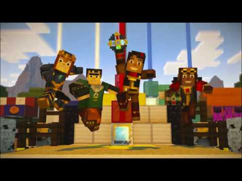 Minecraft Story Mode Netflix Edition Season 1 Episode 4 | Witherstorm Fight + Reuben's Farewell