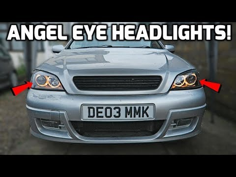 Angel Eye Headlights *Install*!