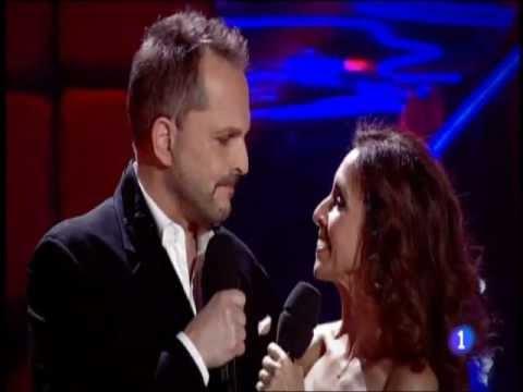 Miguel Bosé con Ana Belén (No sé por qué te quiero)