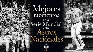 Mejores momentos de la Serie Mundial entre Astros y Nacionales