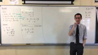 Solving Simple Quadratic Equations