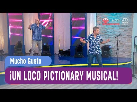 ¡Un Loco Pictionary Musical! - Mucho Gusto 2017