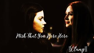Doctor Who || Clara&Amy || Wish that you were here