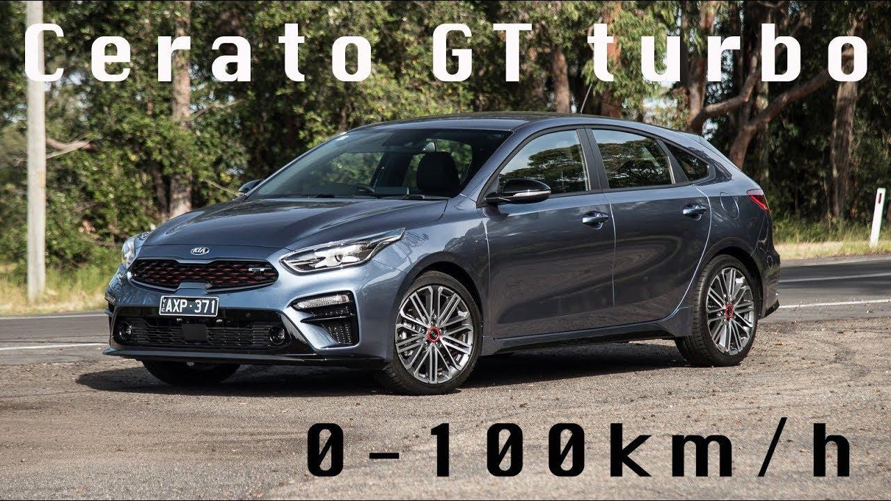 2019 kia cerato gt turbo 0-100km  h  7spd dct