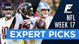 NFL Week 17 Game Picks (Against the Spread)