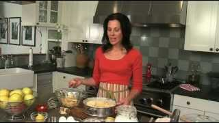 APPLE CAKE RECIPE - Italian Chef Deborah Dal Fovos Nonnas Homemade Italian Apple Cake