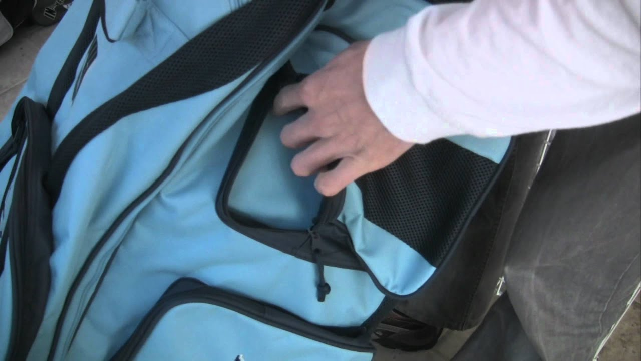 Newbery Tour Stand Up Cricket Bag Review - YouTube 9dfe957873
