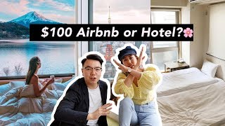 Gambar cover Where to Stay in Tokyo | Hotel or  $100 Airbnb?