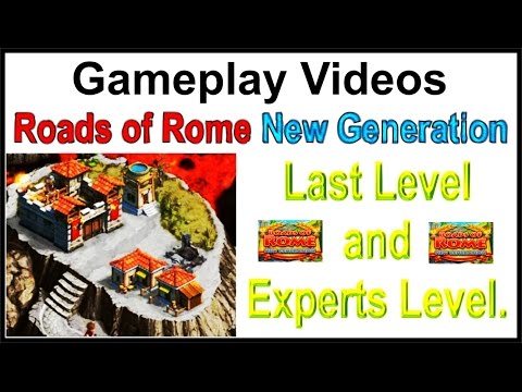 Roads of Rome - New Generation Gameplay Video Last Level and Experts Level.