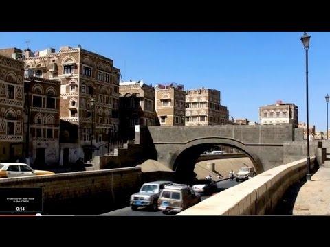 YEMEN, die Hauptstadt SANA'A before War & DAR ALHAJR February 2009