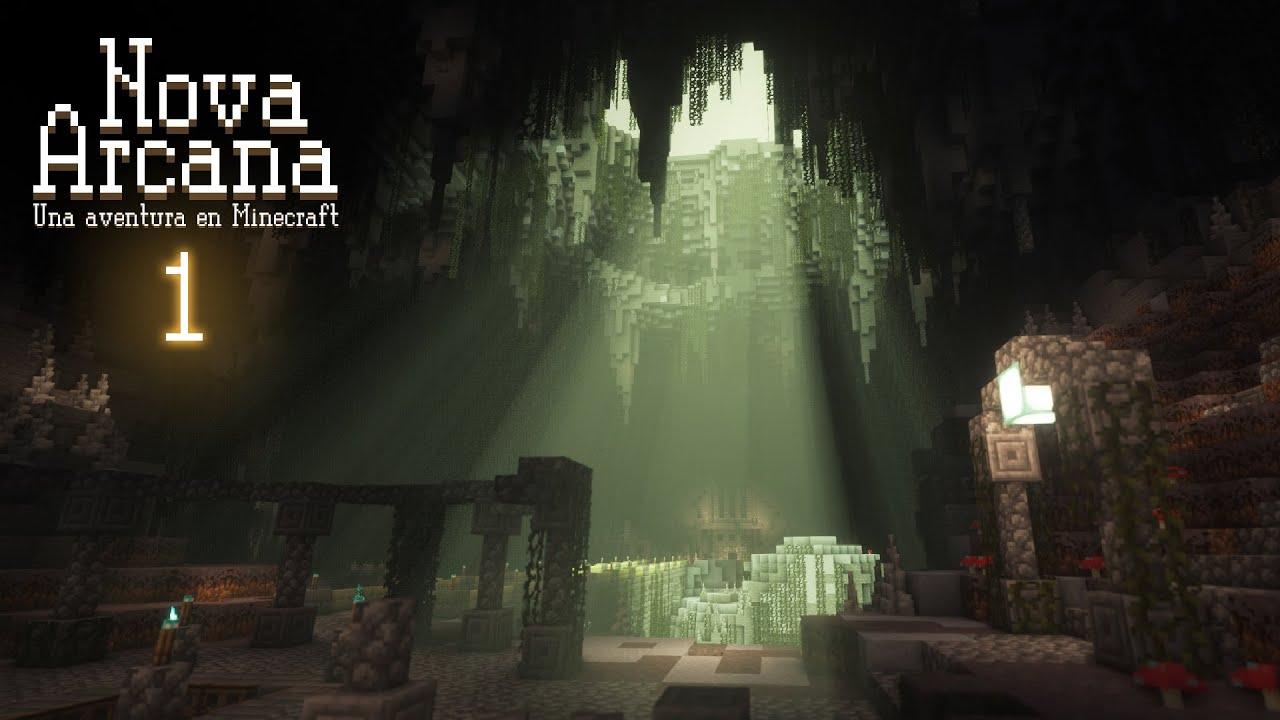 Minecraft: Nova Arcana - Cap. 1 - Empezamos un mapa de aventuras