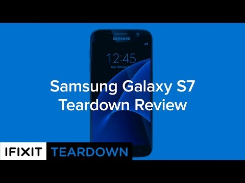 Samsung Galaxy S7 Teardown Review!