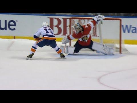 Halak, Barzal lead Islanders to shootout victory