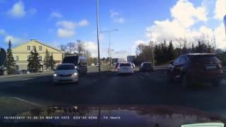 Road rage in Tallinn