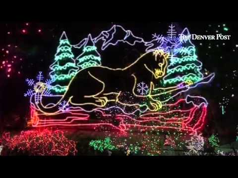 watch the zoo lights 2014 at denver zoo - Christmas Lights In Denver