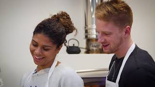 Fencing foodies with Ysaora and Race