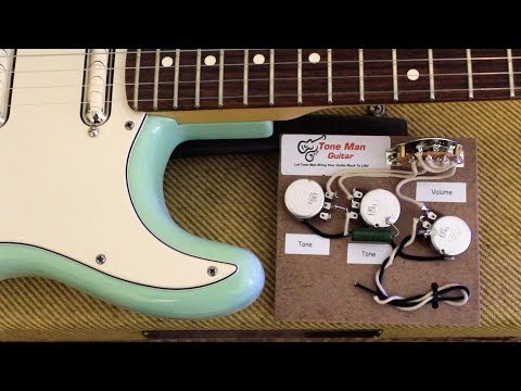 fender stratocaster mods tone man guitar blues wiring harness youtube Schecter Guitar Wiring Diagrams