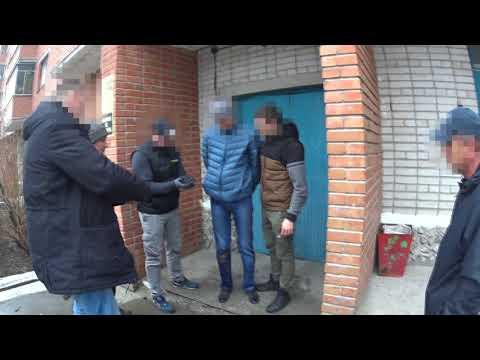Задержание наркосбытчика ОКОН УТ Бердск