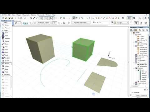 Tutorial Archicad 16 - Morph 1 herramienta forma