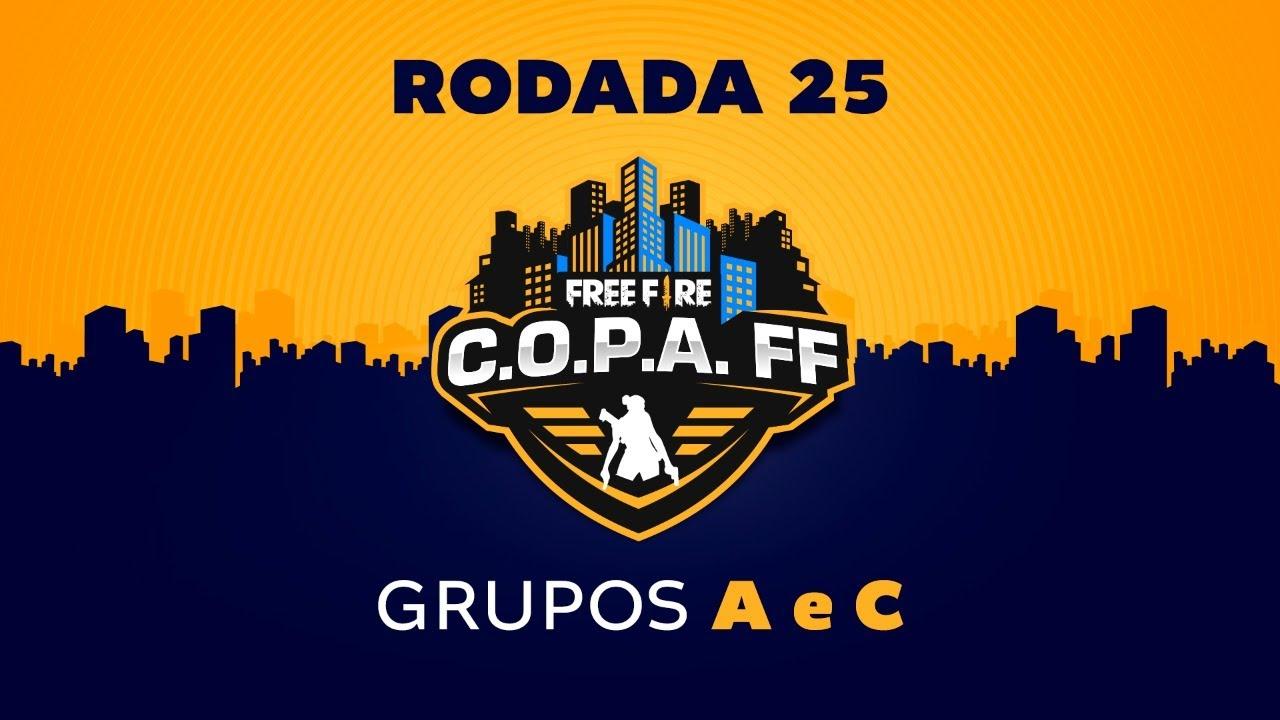 C.O.P.A. FF - Rodada 25 - Grupos A e C