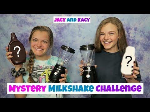 Mystery Milkshake Challenge ~ Jacy and Kacy