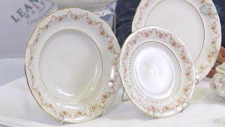Посуда из белого фарфора Соната (Sonata) Мелкие цветы 0158 (Leander, Чехия)(, 2017-01-08T16:01:58.000Z)