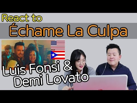 Luis Fonsi, Demi Lovato - Échame La Culpa Reaction [Koreans React] / Hoontamin