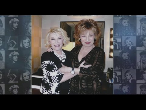 joy behar discusses her personal experiences with joan rivers youtube