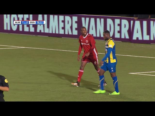 Samenvatting: Almere City FC - FC Oss (2-2)