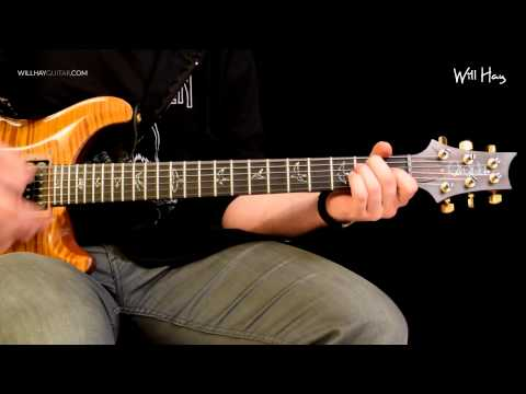 The Feast and the Famine - Foo Fighters part 1 full Guitar tutorial lesson HD Tabs