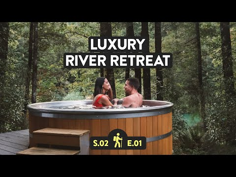 Luxury Wellness Retreat In New Zealand (Maruia River Retreat)   Reveal NZ S2 E1