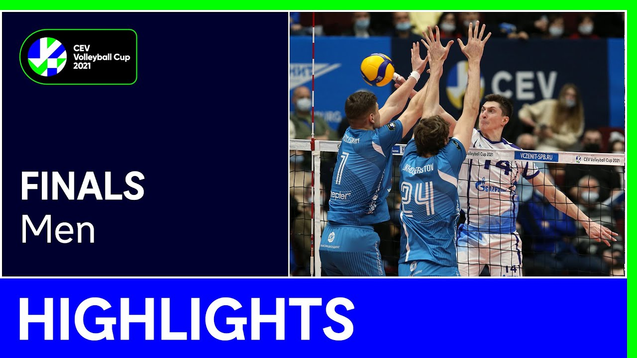 Zenit SAINT PETERSBURG vs. Dinamo MOSCOW Highlights - #CEVCupM
