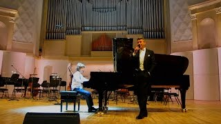 """My Way"" Slava Kagan-Paley. A.Shilo piano.Зал Чайковского."