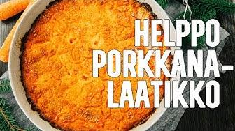 Helppo ja maukas porkkanalaatikko