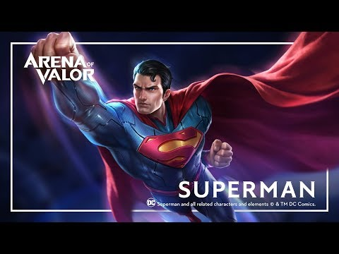 Superman: Hero Spotlight | Gameplay – Arena of Valor