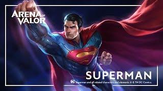 Superman: Hero Spotlight | Gameplay - Arena of Valor