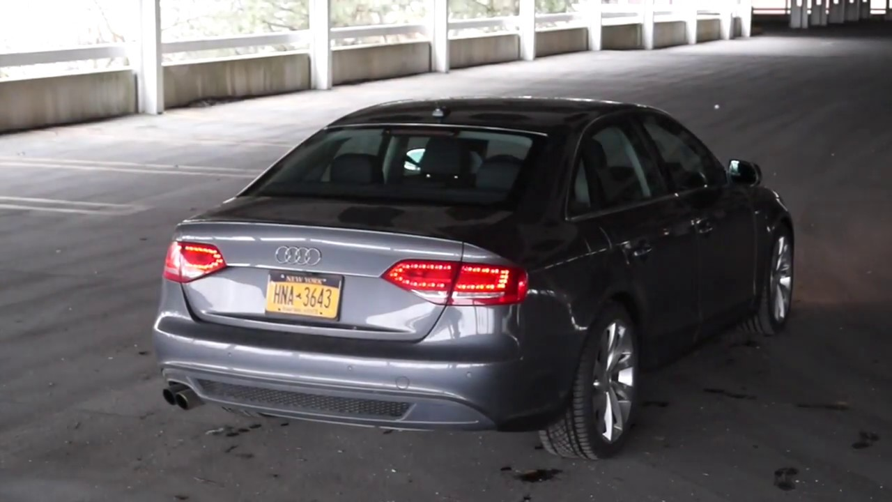 Audi B8 A4 CTS Turbo Hi-Flow Cat & Downpipe - Before and After