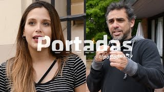 Mariano Zabaleta ( Tenista - Conductor ) | Barbie Velez ( Actriz ) | Portadas_tv