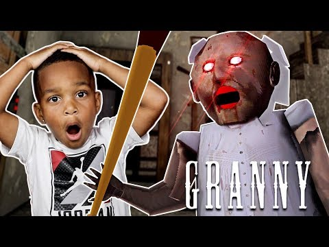 ESCAPE SCARY GRANNY HOUSE AT 3AM CHALLENGE PART 2 | Don't Play This At Night With DJ's Clubhouse!